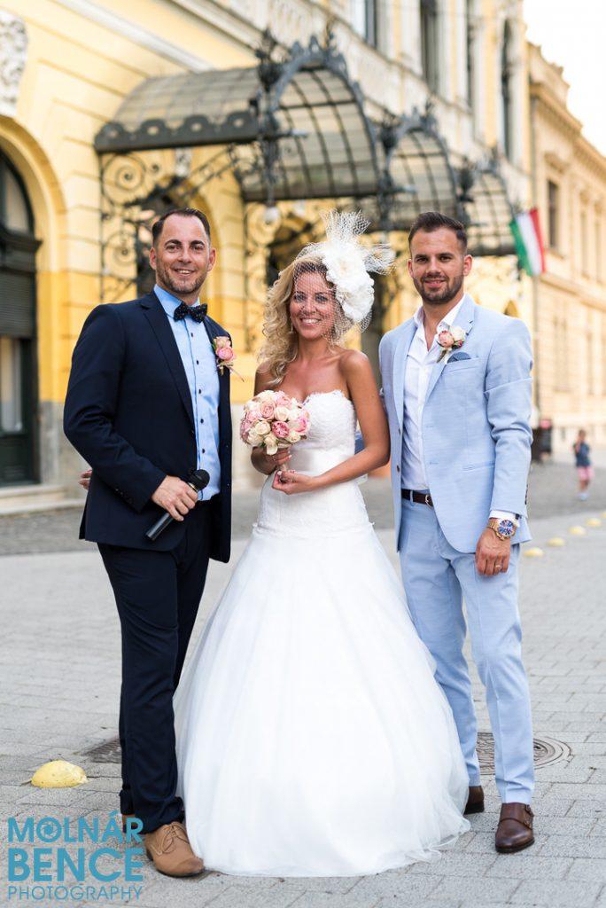 Barna László Ceró esküvőre