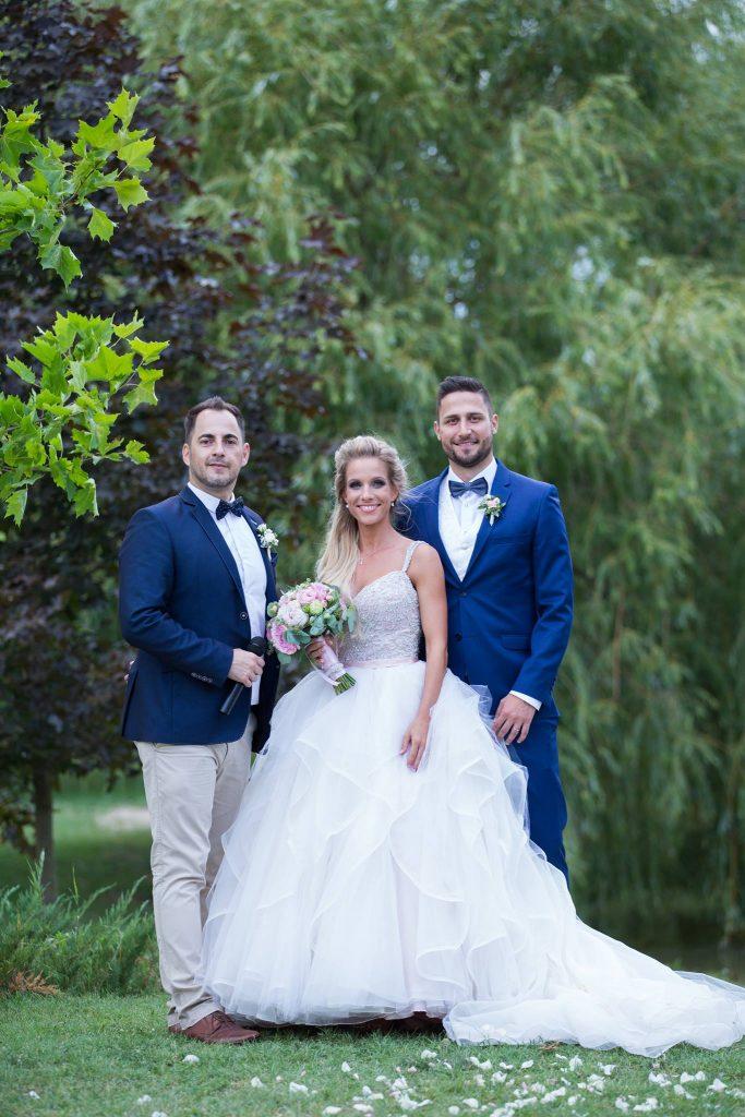 Ceremóniamester dorog, Esztergom, LógaTó esküvő