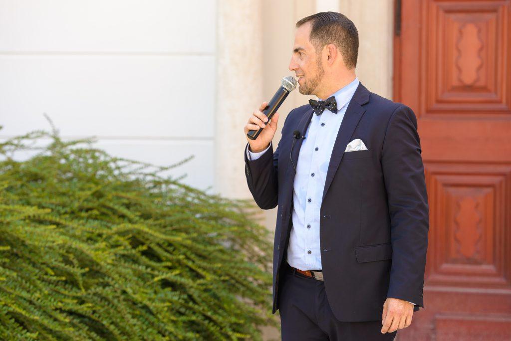 Ceremóniamester Gödöllő