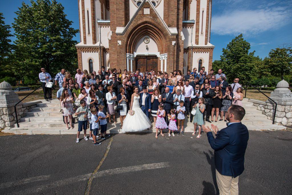 Ceremóniamester -esküvő Vasadon a Nádas pihenőparkban