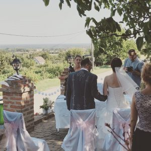 Ceremóniamester esküvő Marcali