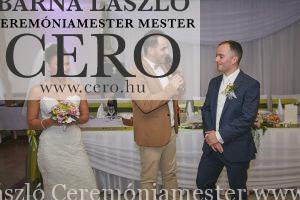 Ceremóniamester Kecskemét esküvő Geréby Kúria, Lajosmizse, Ceró, Barna László