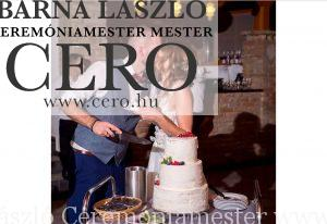 Esküvői torta Eger, ceremóniamester