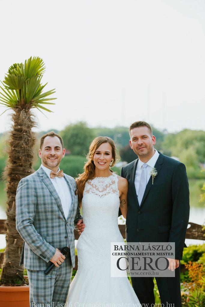ceremóniamester esküvő nádas Vasad cero barna lászló
