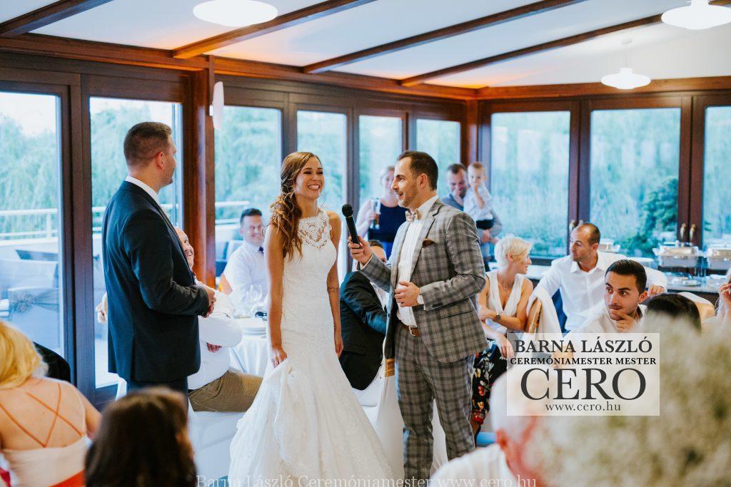 esküvő, nádas, ceremóniamester