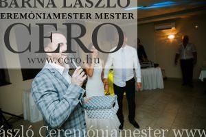 ceremóniamester eskuvő nádas Vasad cero barna lászlo