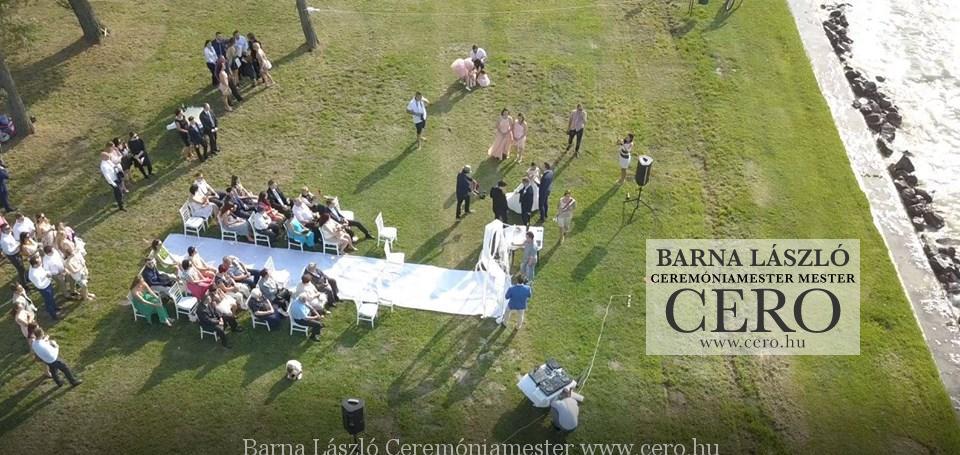 Balaton, esküvő, ceremóniamester,