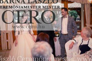 Ceremóniamester, Esküvő a Forster Vadászkastélyban. Ceró, Barna László