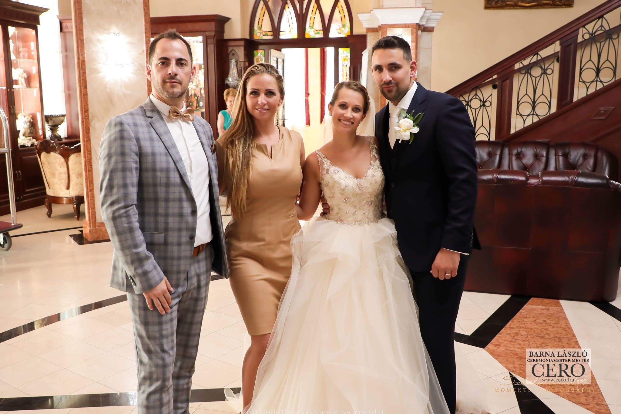 Ceremóniamester, ceró esküvő, Nyíradony, Borostyán Med, Barna László