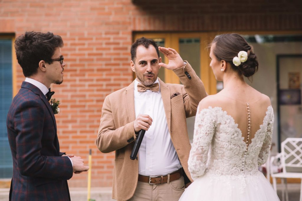 esküvő, lakodalom ceremóniamester szervez