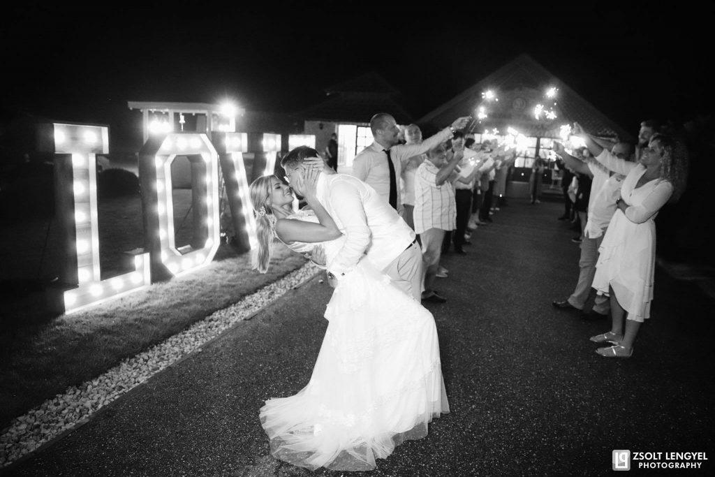 Esküvő Nyírtasson csillagszóró