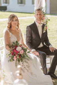 Esküvő a Hercegasszony birtokon, Mezőtúron. Ceremóniamester, Ceró Barna László